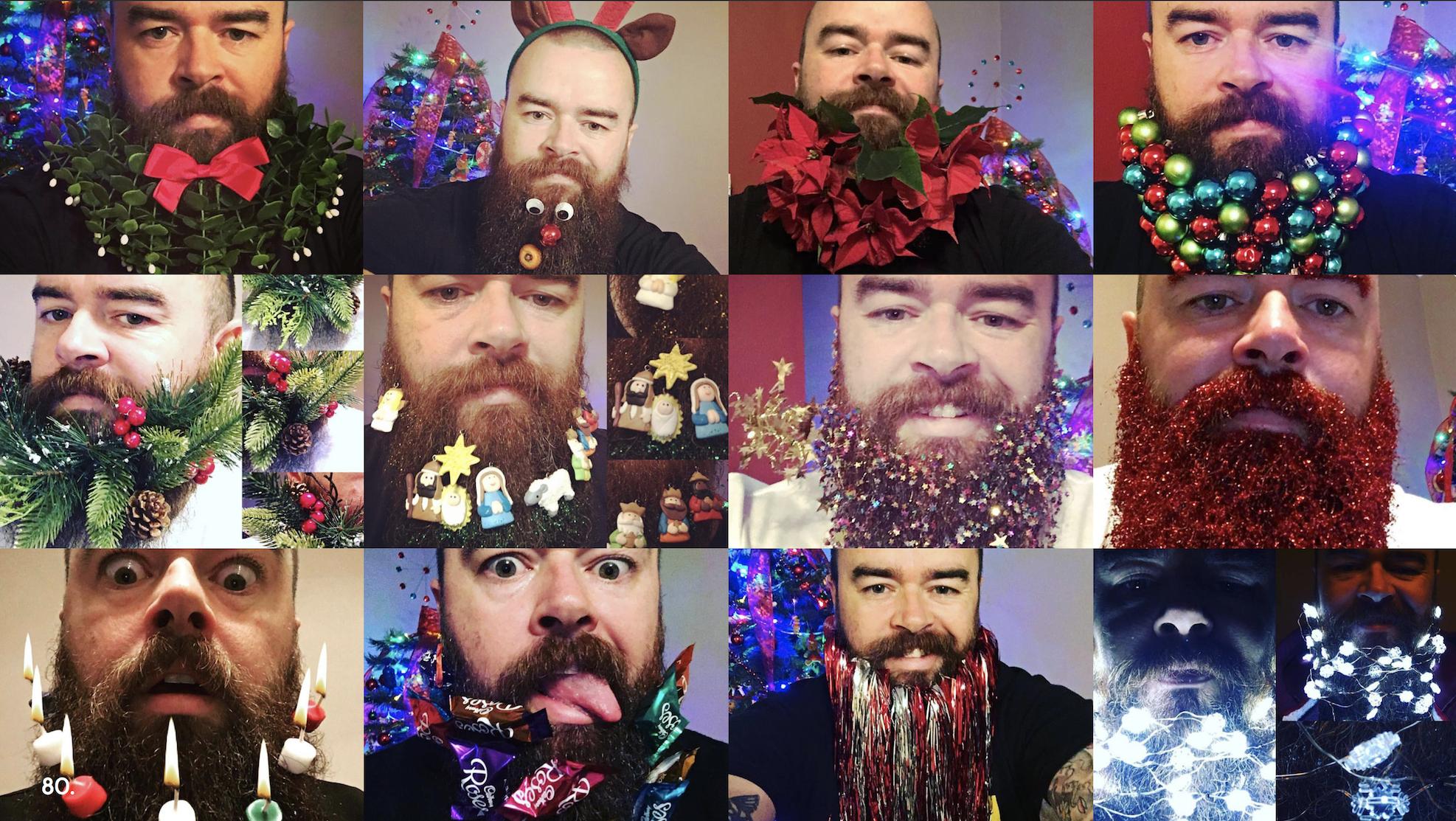 12 days of bearded Christmas